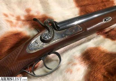 For Sale: Pedersoli Classic Side-by-Side 12-Gauge Black-Powder Shotgun