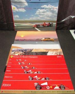 Purchase 2005 Ferrari Prestige Sales Brochure Portfolio F430 Spider F1 World Champion motorcycle in Holts Summit, Missouri, United States, for US $98.05