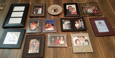 Picture frames $1 each