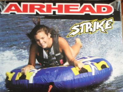 """Sell AIR HEAD STRIKE DECK TUBE 253 AHST23 1 RIDER 54"""" TOWABLE BOATING WATERSPORTS motorcycle in Osprey, Florida, US, for US $64.95"""