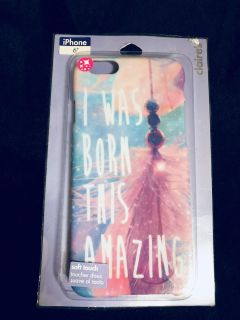 New iPhone 6/6S/7 Case > I was born this amazing