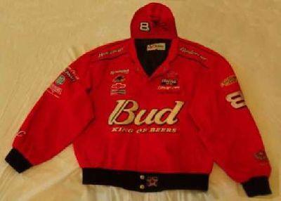 DALE EARNHARDT Jr, Budweiser, Jacket
