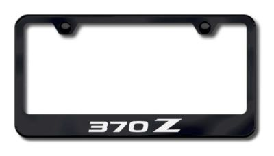 Sell Nissan 370Z Laser Etched License Plate Frame-Black Made in USA Genuine motorcycle in San Tan Valley, Arizona, US, for US $34.49