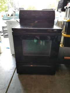 Whirlpool electric range oven ( must pick up)