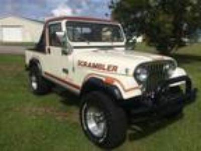 1982 Jeep CJ Scrambler CJ8