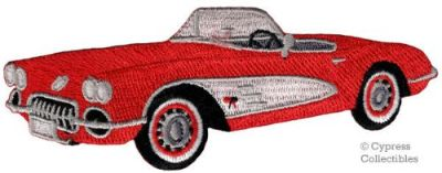 Find AMERICAN CONVERTIBLE CAR BIKER PATCH iron-on embroidered RED CLASSIC AUTOMOBILE motorcycle in Austin, Texas, United States