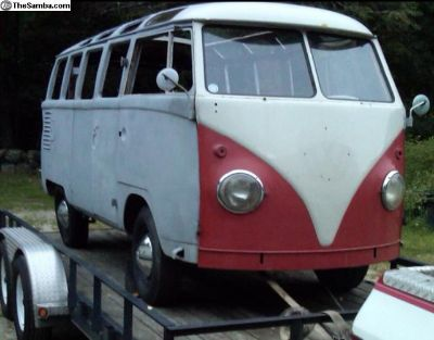 Only Real 23 window project on the Samba for sale