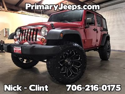 2007 Jeep Wrangler Unlimited X (Red)