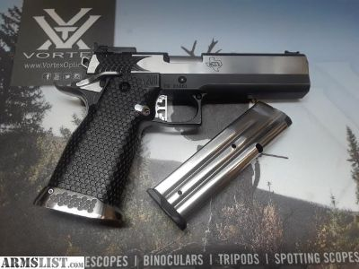 For Sale: STI Apeiro 9mm with $950 SVI Infinity Steel Grip