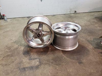 15x10 Racestar wheels