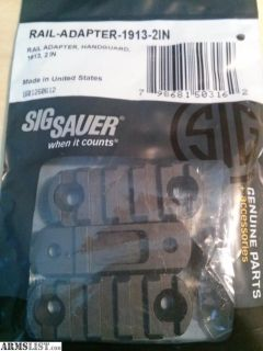 For Sale: SIG SAUER MPX rail