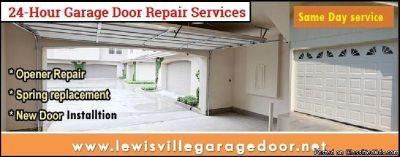24 hour | Emergency Garage Door Repair ($25.95) Lewisville Dallas, 75056 TX