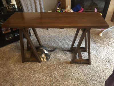 Solid wood entry way/sofa table