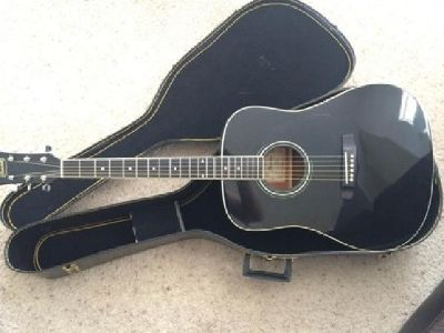 Black Ibanez Performance Acoustic - Like New