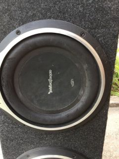 Rockford Fosgate Punch Subwoofers