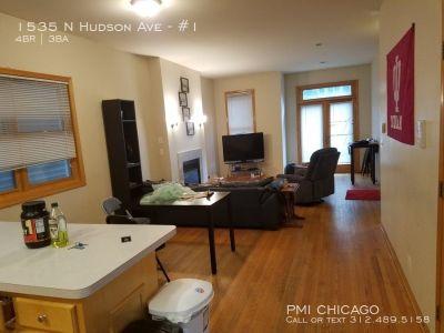 GORGEOUS Oldtown Duplex 3full ba, in unit w/d, fp, hdwd, 3car AVL