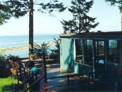 - $225 SHOREFRONT CABIN WITH PRIVATE BEACH AND TIDELANDS (OLYMPIC COAST)