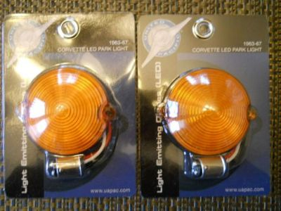 Purchase LED CORVETTE C2 1963 64 65 66 67 PARKING/TURN SIGNAL LIGHTS AMBER/AMBER NICE+ motorcycle in Middletown, Ohio, United States