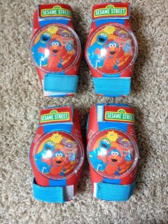 Sesame Street Knee and Elbow Pad Set- Free with purchase