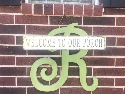 Welcome to our Porch metal sign from AntiqueFarmhouse. Only $15!
