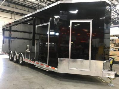 2019 ATC Trailers Quest CH305 8.5 x 34 V-Nose Triple 7000 Ax