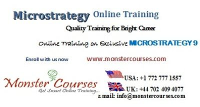 Microstrategy Online Training,Microstrategy 9 Online training