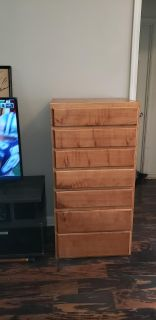 Dresser or Cabinet - 7 Drawers - Real Wood