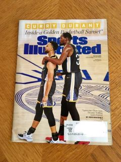 Sports Illustrated Magazine June 2019 ~ Curry Durant