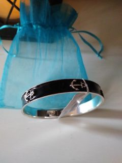 New with tags J. Crew Anchor Bangle Bracelet with gift bag