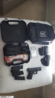 For Sale: Glock 23 Gen 4 with extras