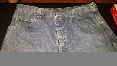 Jean shorts wranglers carpenter size 38