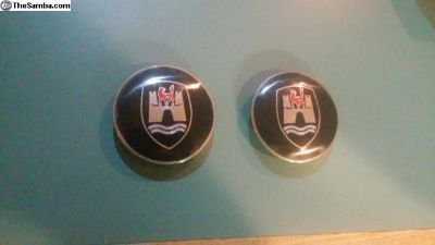 wolfsburg nipple hubcap emblems nice