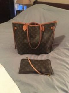 Louis Vuitton like new mm neverfull