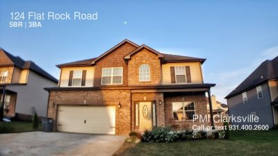 Beautiful 5 Bedroom Home in Newer Subdivision