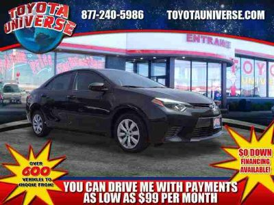 Used 2016 Toyota Corolla 4dr Sdn CVT