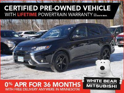 2019 Mitsubishi Outlander SE (Labrador Black Metallic)