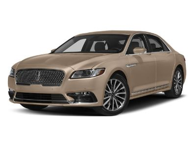 2017 Lincoln Continental Reserve (midnight sapphire blue metallic)