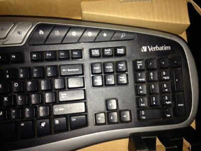 Verbatim Key Board w/mouse still in box