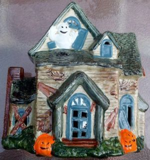 BRINN S1987 VINTAGE HALLOWEEN COLLECTION HAUNTED HOUSE NO. CMH-7577.0