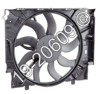 Find New Genuine OEM Radiator Or Condenser Cooling Fan Assembly Fits BMW 535 E60 E61 motorcycle in San Diego, California, United States, for US $620.21