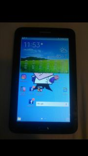 Samsung Galaxy Tab 3 Lite 7 - SM-T113 - WIFI 8GB - Black like new with charger price is negotiable