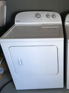 Whirlpool Electric Dryer - White