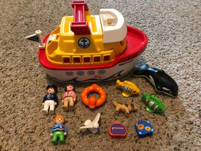 Playmobil 123 cruise Boat