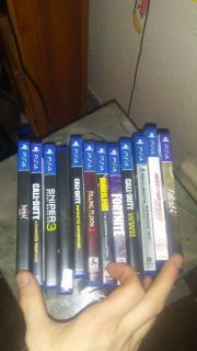 500gb ps4 12 games 2 controllers