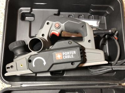 New PC60THP - Porter Cable 6AMP Planer $55