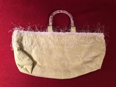 Day Tote. 16 x 8 x 3 . Photo of Inside Attached. EUC