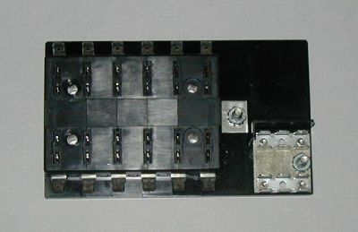 Find 12 Fuse Panel WITH Grounds - uses ATO/ATC Fuses block hot rod rat custom boat motorcycle in Galt, California, US, for US $19.75