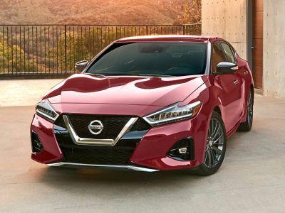2019 Nissan Maxima 3.5 SL (Deep Blue Pearl)