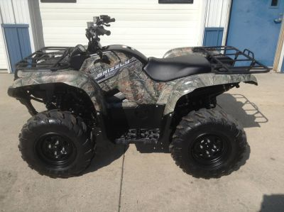 2014 Yamaha Grizzly 550 EPS Utility ATVs Hutchinson, MN