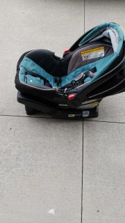Graco Connect 35 car seat - 3 bases